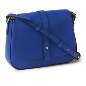 New Gap blue crossbody saddle bag